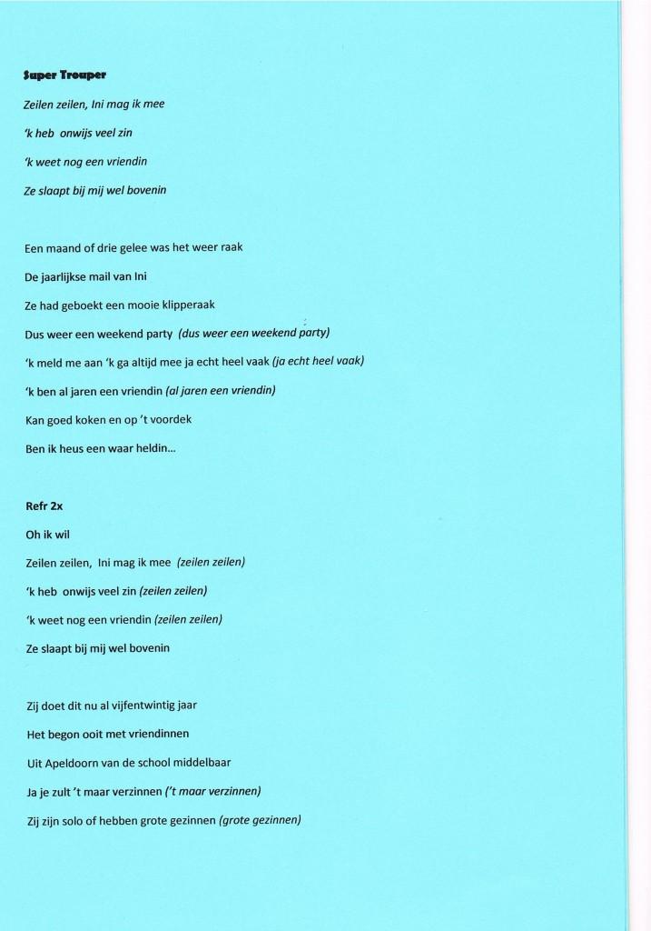 25 jarig jubileum liedjes Zeilen met vrouwen – zeilreizen.nu 25 jarig jubileum liedjes